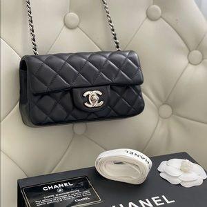 Chanel new mini black Lambskin bag